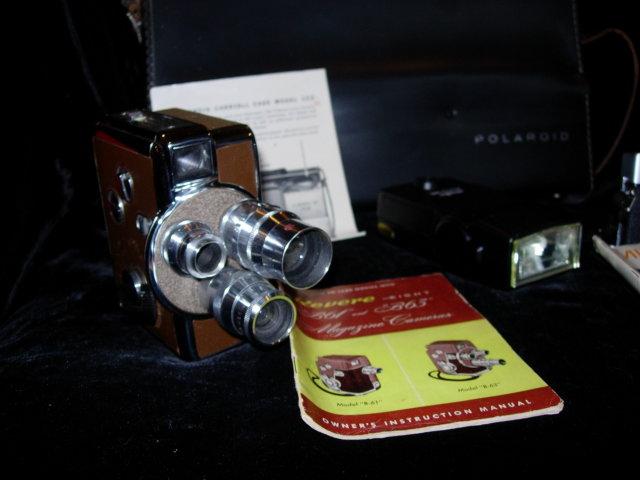 Revere 8 Model 44 and Minolta SRT202