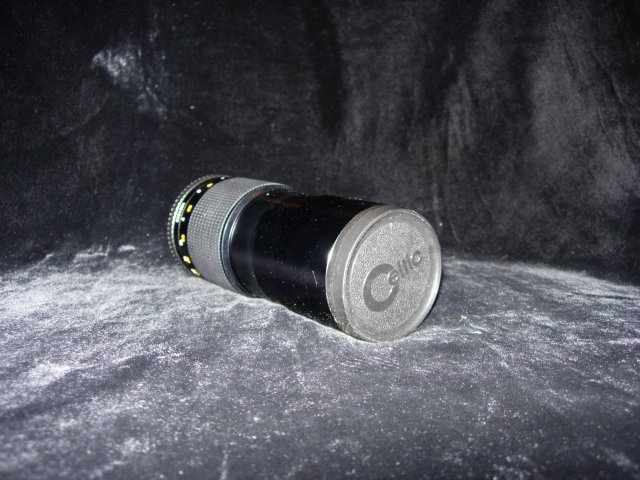 Minolta MD Celtic 200mm f4.0 Lens