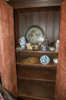 TV Cabinet w/Asian Flair