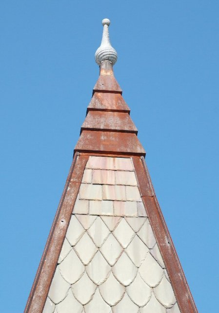 Steeple with Slate Shingles
