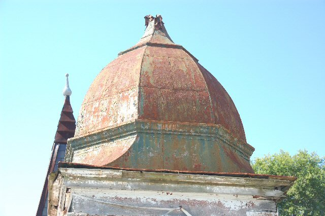 Cupola w/ Metal Roof