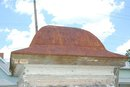 Metal Roofed Cupola w/ wood base