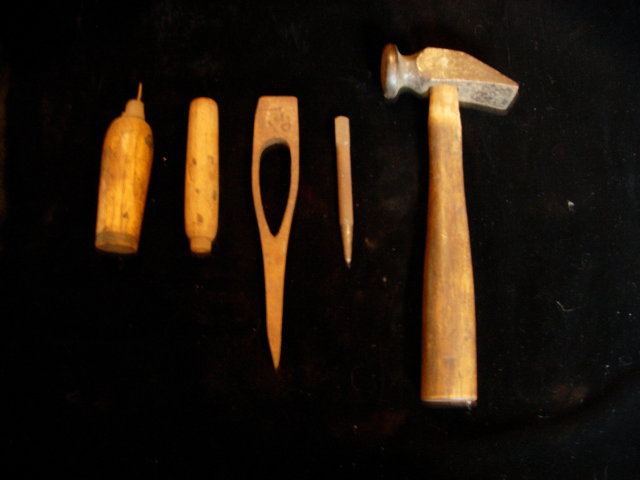 Antique Cobbler's Tool Set