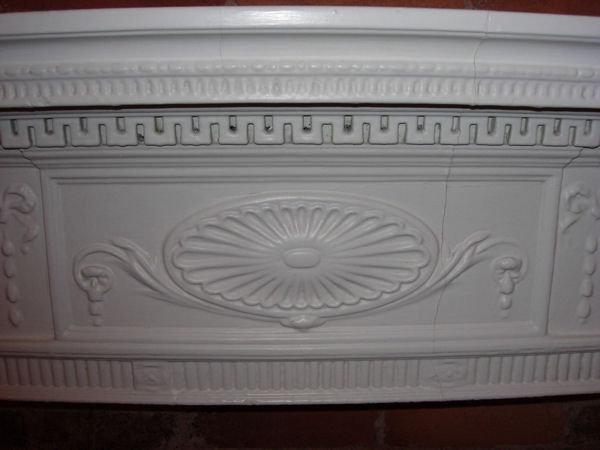 Plaster Mantel