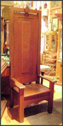 Oak Lodge Chairs w/ Original Finish