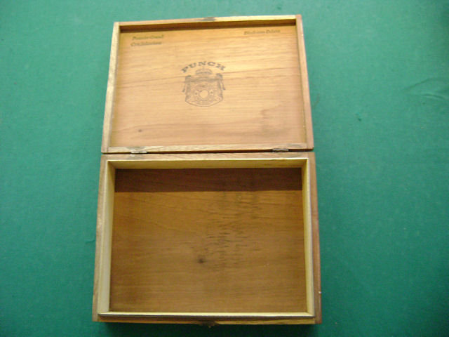Punch Cigar Box