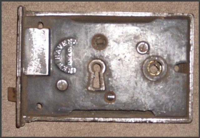 Vintage Commercial Size Rim Lock