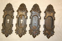 Iron Pocket Door Escutcheons
