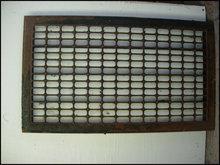 Vintage Steel Floor Grate