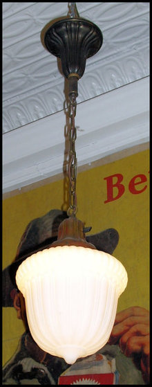 Vintage Hanging Pendant Light