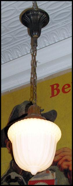Vintage Hanging Pendant Light