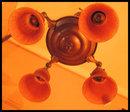 Vintage Hanging Light Fixture