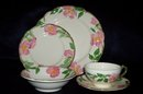 20 Piece Set Franciscan Desert Rose Dinnerware
