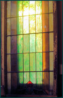 Pair of Wonderful Large Stained Glass Windows