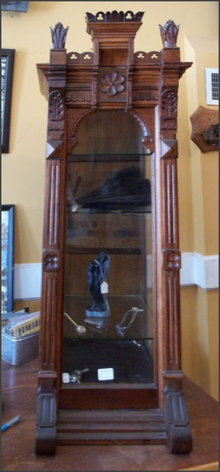 Walnut East Lake Display Cabinet