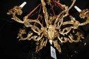 Bronze Cherub Chandelier