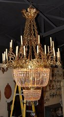 Palatial English Antique Chandelier