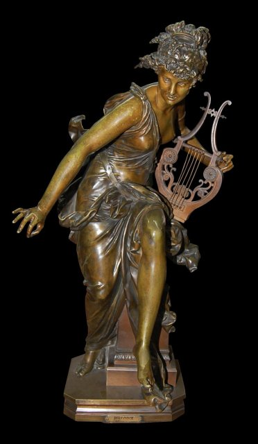 French Bronze Albert Carrier-Belleuse Statue