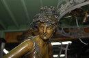 French Bronze Albert Carrier-Belleuse Statue