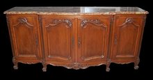 French Walnut Sideboard
