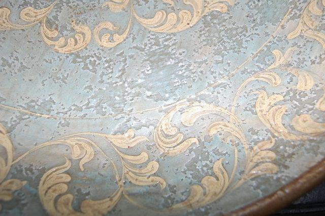 Decorative Terra Cotta Charger