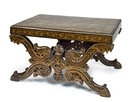 Lacquered Anglo-Indian Low Table
