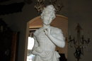 Italian Carved Alabaster Sculpture