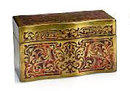 Napoleon III Boulle Tea Caddy