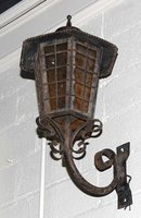 Continental Iron Wall Lantern