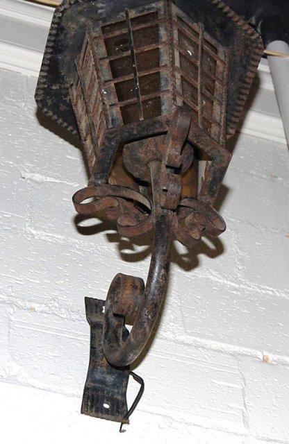 Continental Iron Wall Lantern