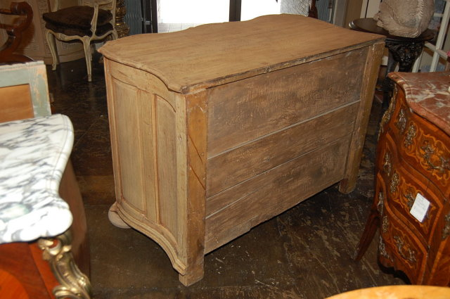 French Oak Bleached Commode