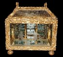 Important Giltwood Reliquary