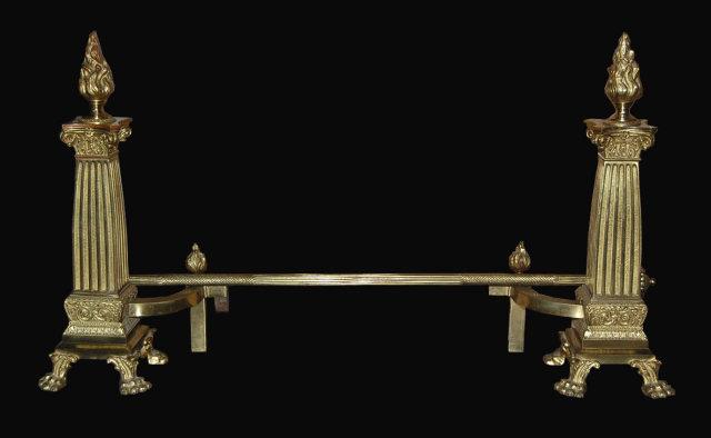 Bronze Continental Chenet