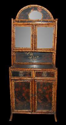 English Bamboo Cabinet