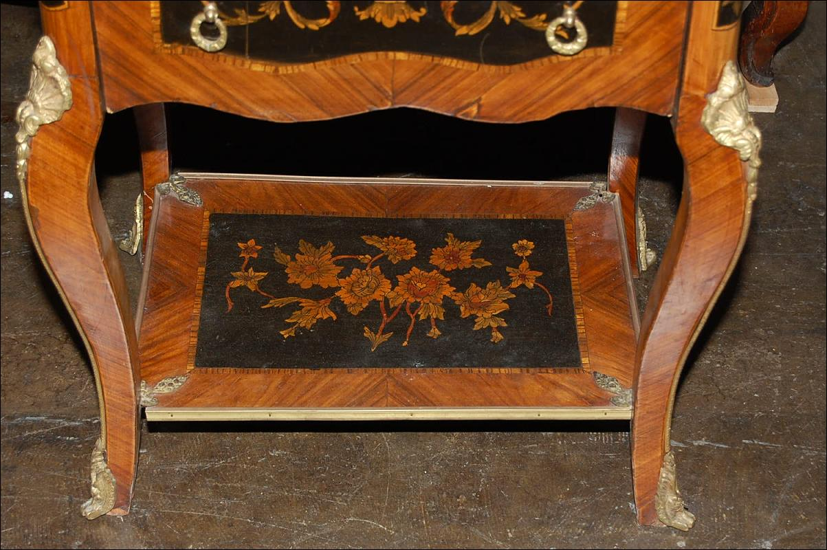 Continental Inlaid Side Table