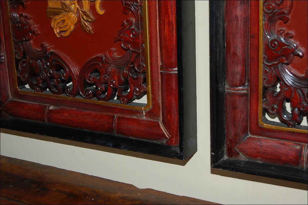 Pair Oriental Panels