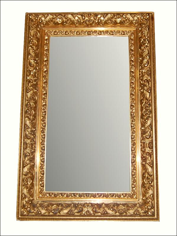 Fine French Giltwood Mirror