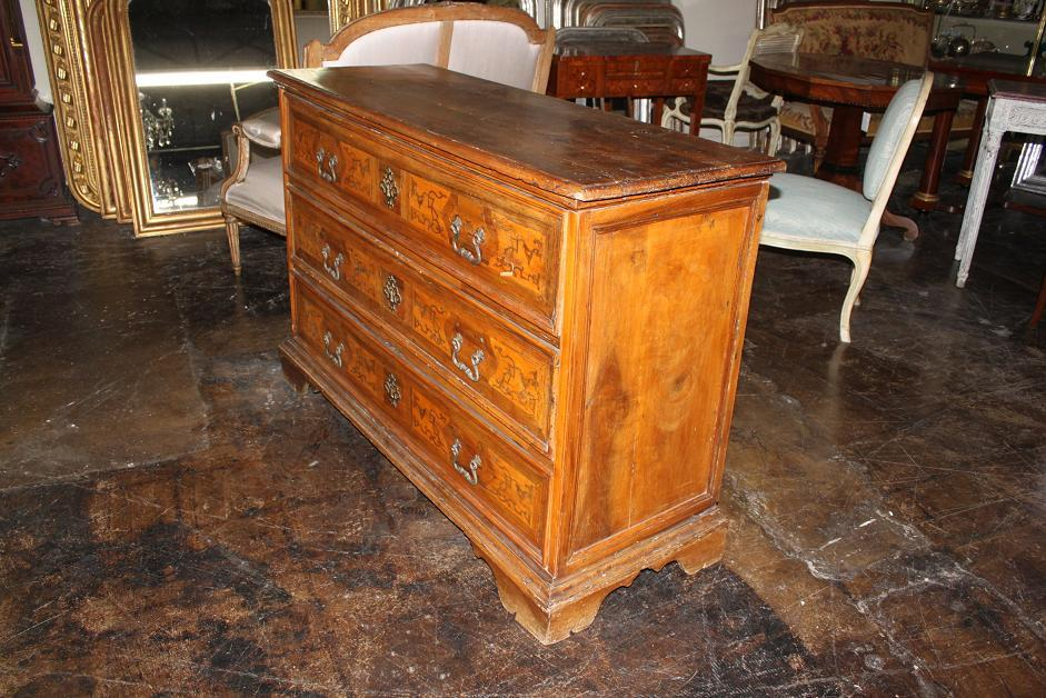 18th Century Inlaid Commode