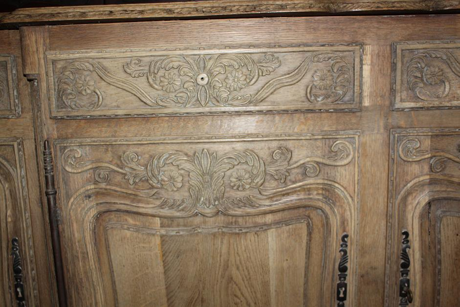 French Bleached Oak Sideboard