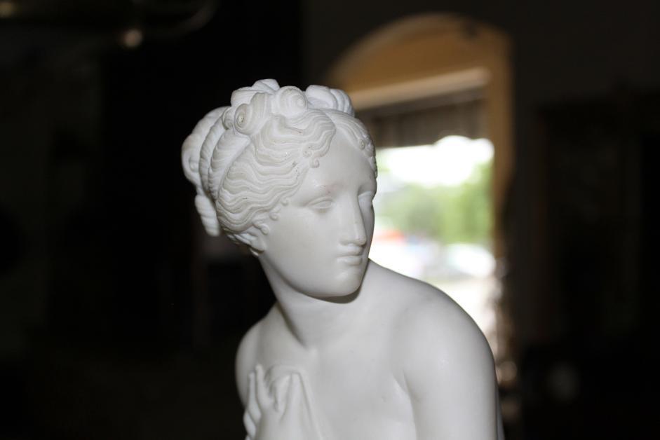 Italian Marble Figure