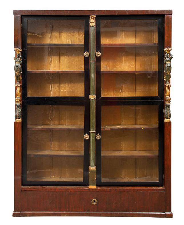 Continental Neo-Classical Bookcase