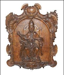 Italian Carved Religious Panel