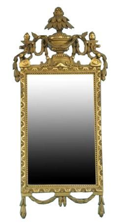 French Neo-Classical Mirror