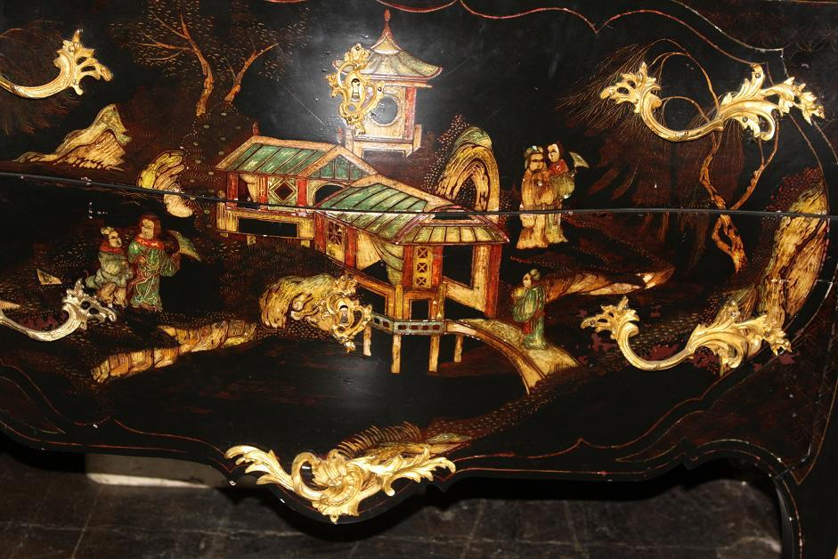 19th Century Chinoiserie Commode