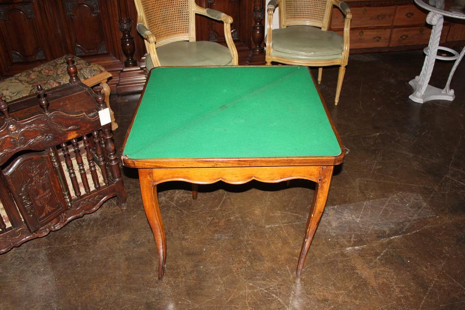 Early Walnut Games Table