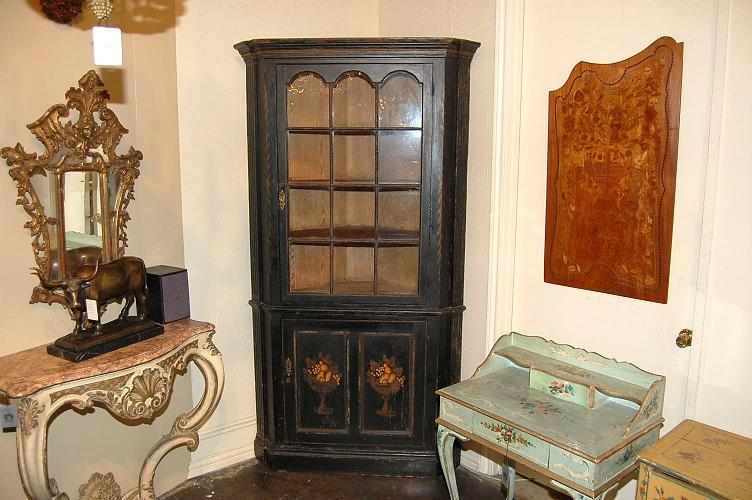Eastern Shore Corner Cupboard