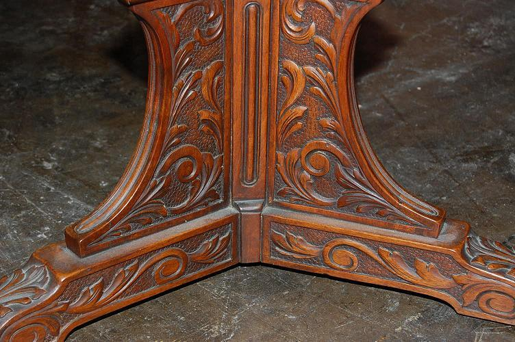 French Carved Side Table