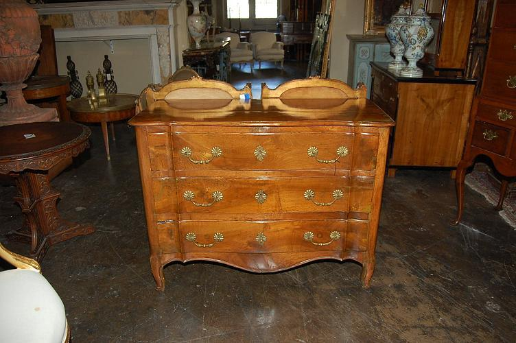 French Provincial Fruitwood Commode