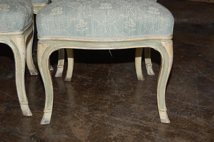 Set of 10 Italian Dining Chairs