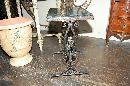 Art Nouveau Iron Side Table